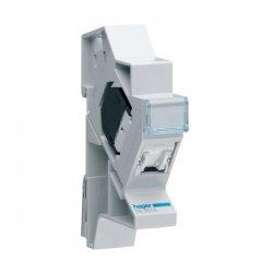 HAGER TN001S Connecteur RJ45 categorie 5 pour grade 1 + support modulaire