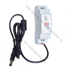 Alimentation modulaire pour switch 12 VDC/1,5 A