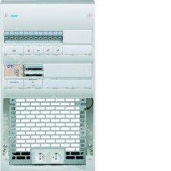 Coffret VDI 2 rangées 36 modules + platine Grade 3TV