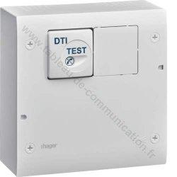 Hager Coffret TN401 de communication équipé tél / TV