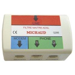 Filtre maitre ADSL Michaud